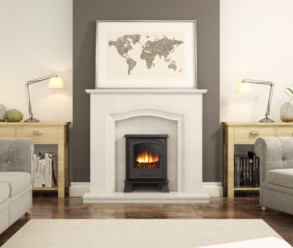 Broseley Hereford Inset - 2kw Electric Stove