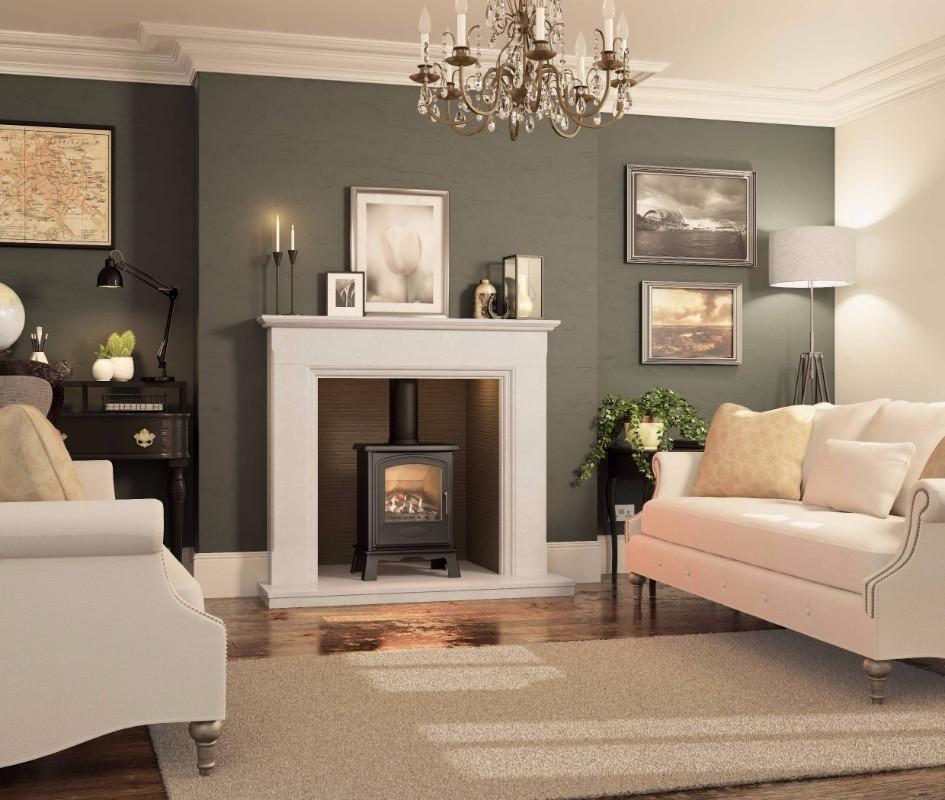 Broseley Hereford 5 - 4.6kw Gas Stove