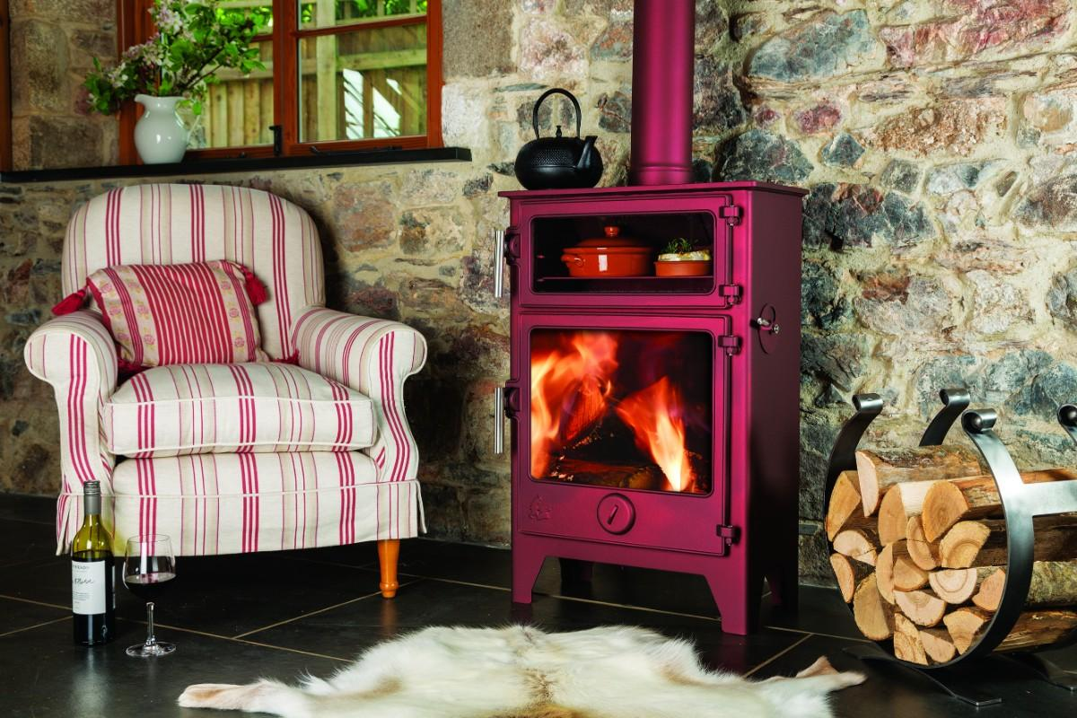 Dean Baker W5 - Woodburning or Multi Fuel Stove