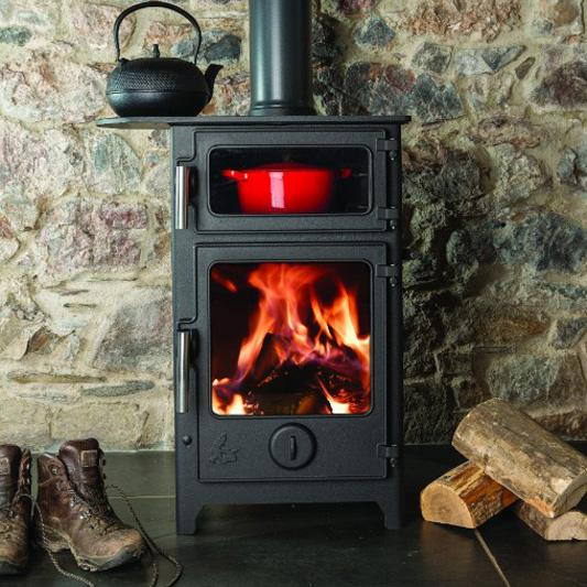 Dean Baker 8 - Woodburning or Multi Fuel Stove