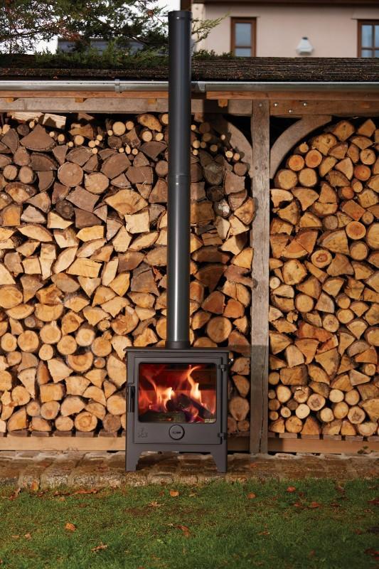 Dean Dartmoor W5 - 5kw Woodburning or Multi Fuel Stove