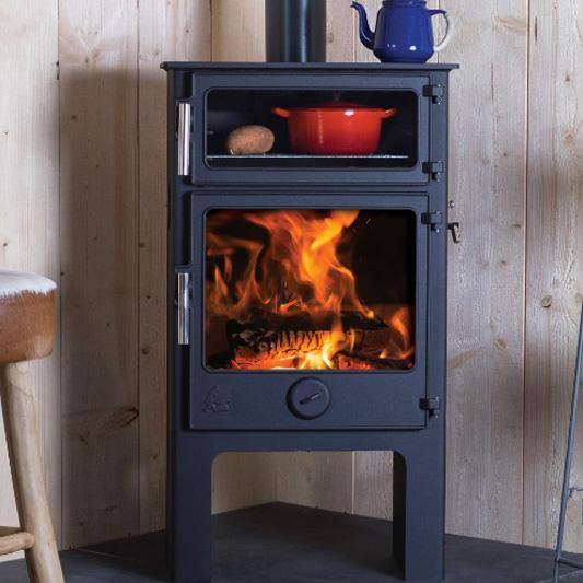 Dean Baker Plus W5 - Woodburning or Multi Fuel Stove
