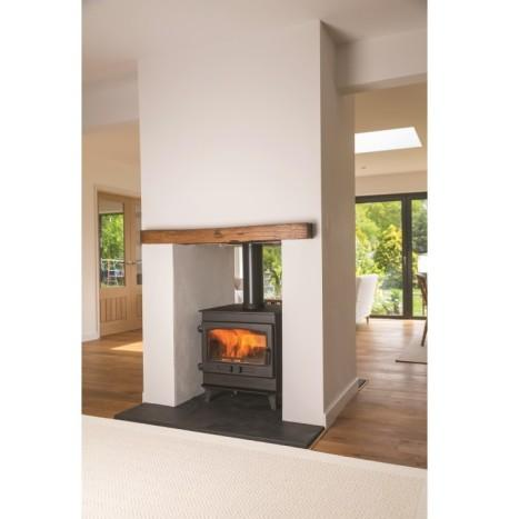 Dean Clearburn Double Sided Woodburning Stove