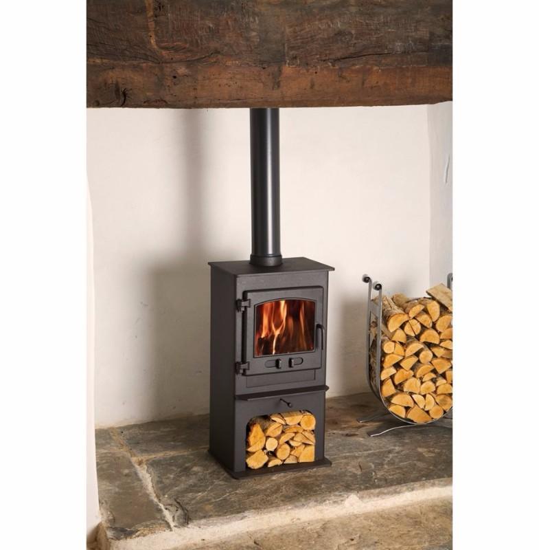 Dean Croft Clearburn Junior Log Store - 5kw Multi Fuel Stove