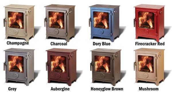Dean Croft Small - 8kw Multi Fuel Stove