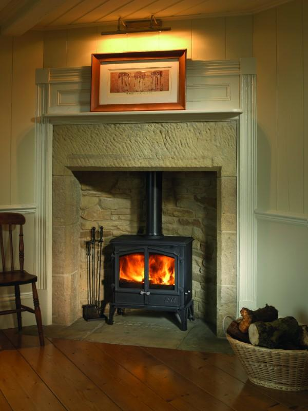 Esse 100 Double Door - 5kw Multi Fuel Stove