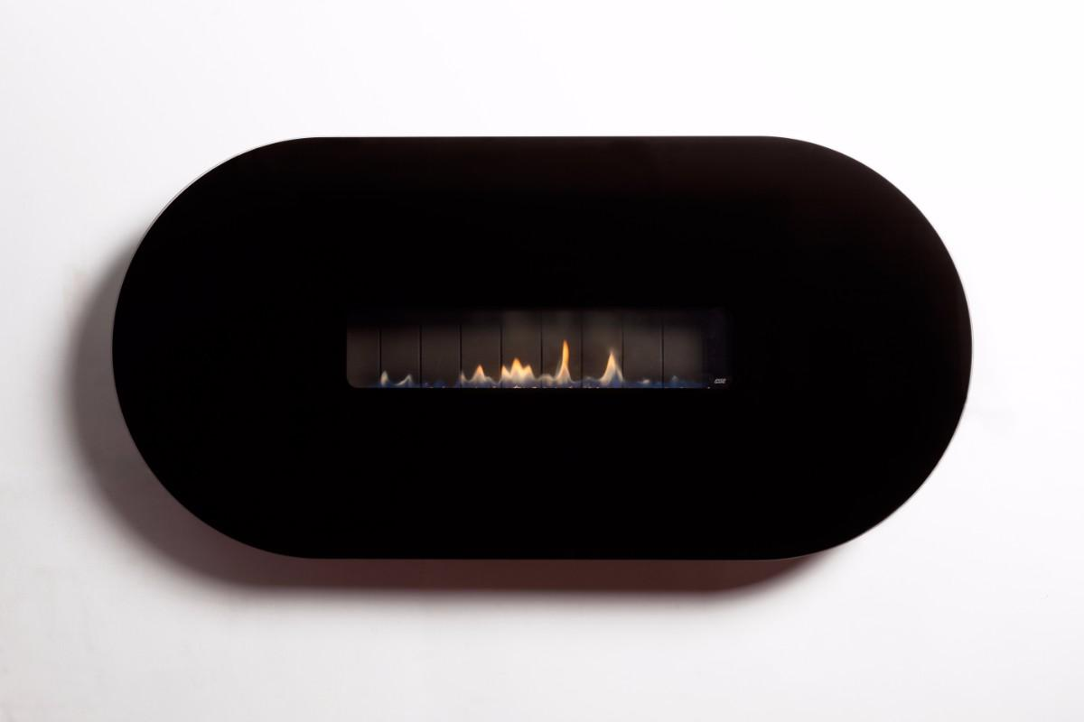 Esse 48 Oval - 3.5kw Flueless Gas Fire