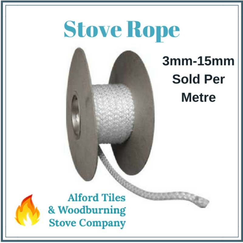 Stove rope gasket seals 3mm 15mm alford tiles for 14mm stove door rope