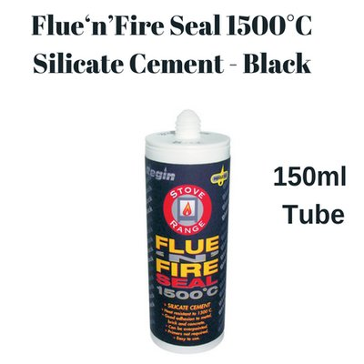 Fire Cement Flue Seal Silicone 1500°C Fire Proof Sealant for Stoves