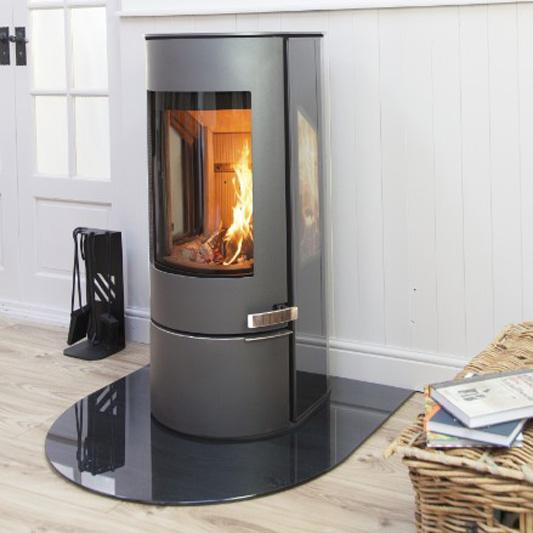 Mendip Somerton II Side Glass - 7.0kw Woodburning Stove