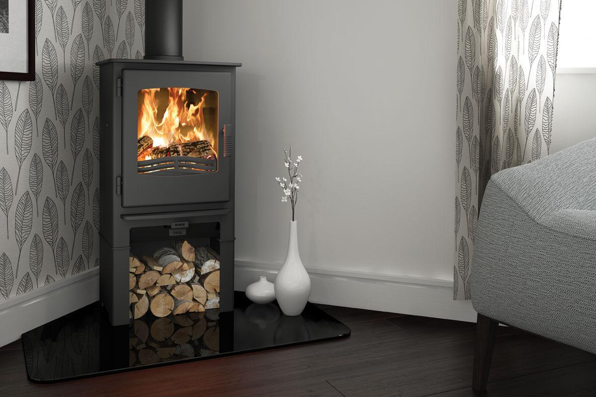 Broseley Evolution Desire 5 Logstore 5kw Multi Fuel Stove