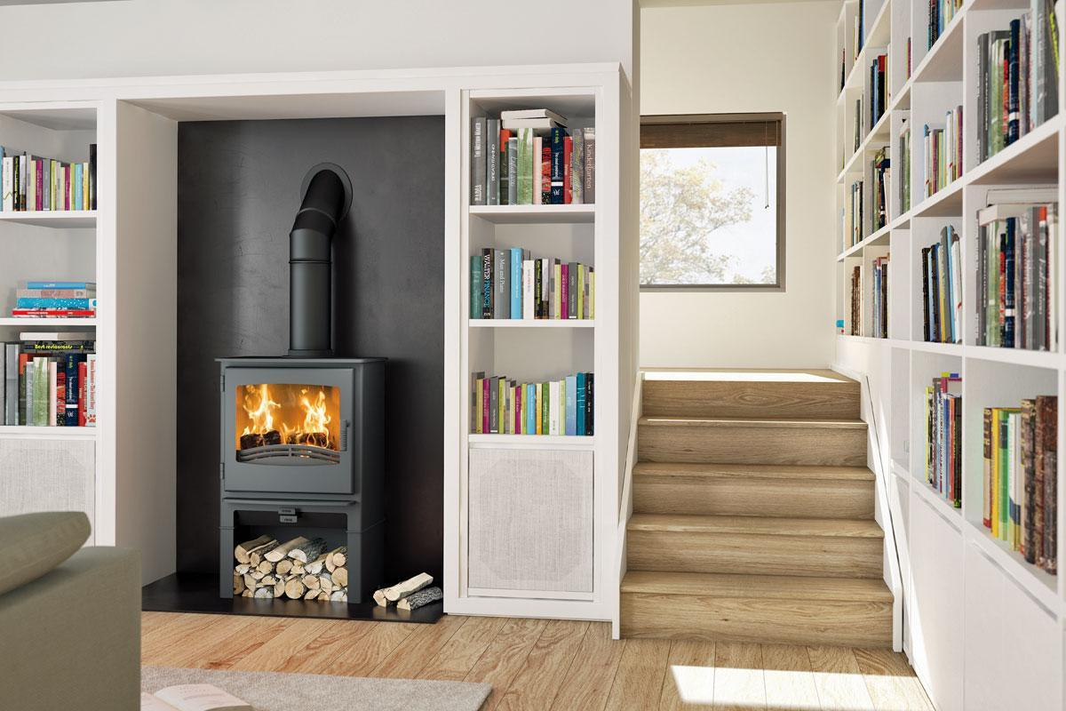 Broseley Evolution Desire 7kw Logstore Multi Fuel Stove