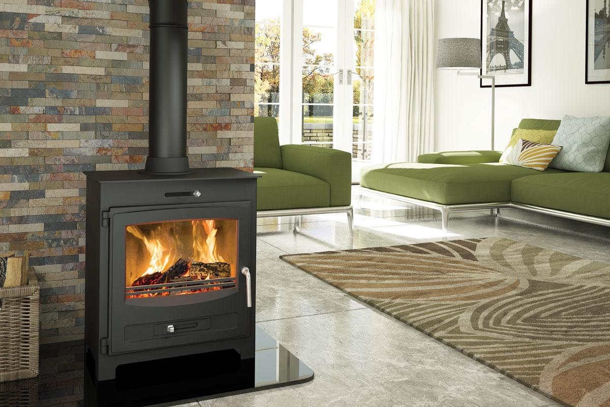 Broseley Evolution Hestia 7kw Woodburning Stove