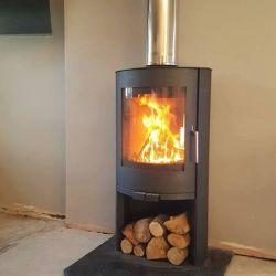 Broseley flair 8 with log store   8kw
